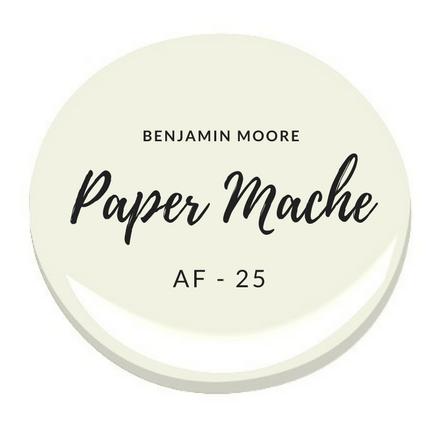 Benjamin Moore AF-25 Paper Mache