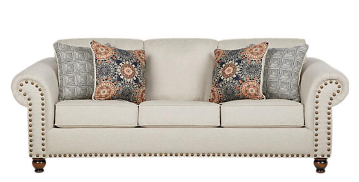 Court Street Beige Sofa