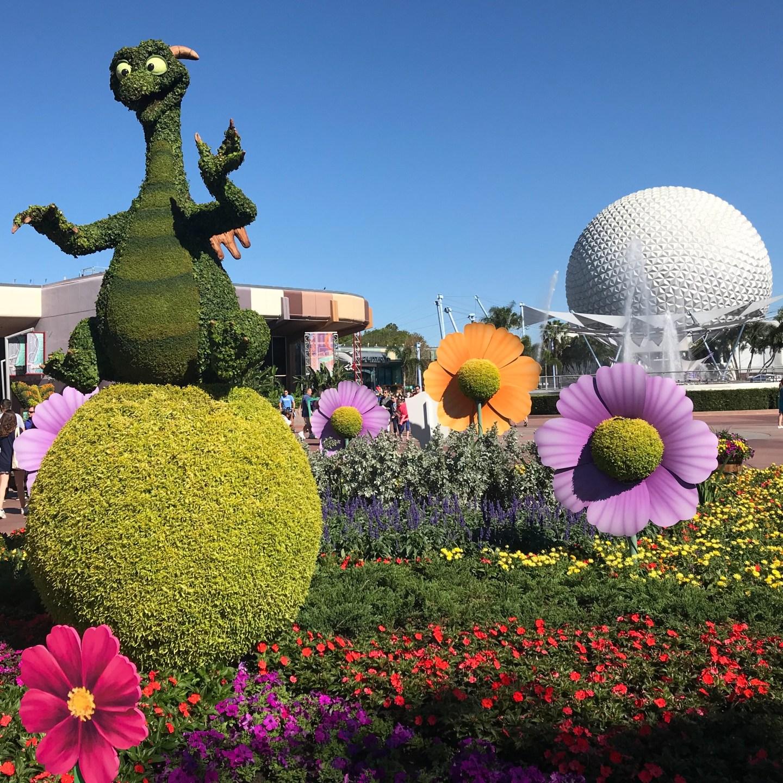 disney-epcot-ball-figment-flower-garden-festival