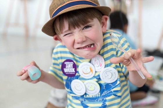 Children's Art Week 2016 at Turner Contemporary (c) Jason Pay