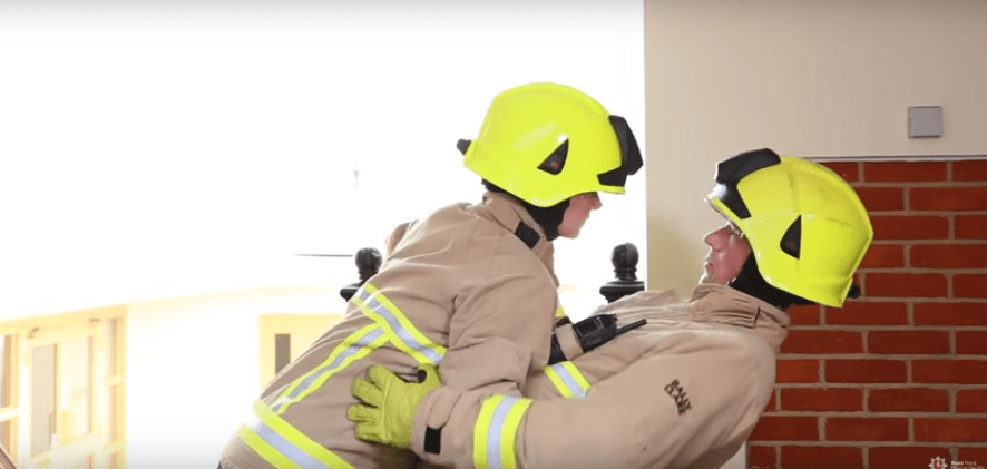 You don t have to be a Dirty Dancer to stay safe from fire Kent Fire and Rescue Service