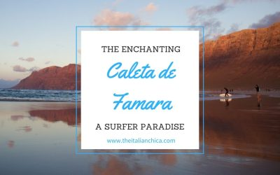 Caleta de Famara: the surfers' paradise