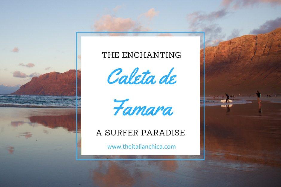 Caleta de Famara: the surfers' paradise