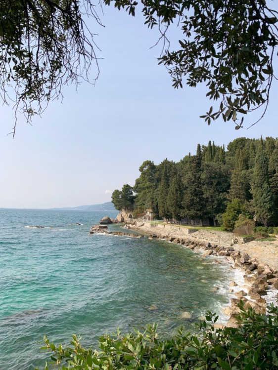 sea and the private beach