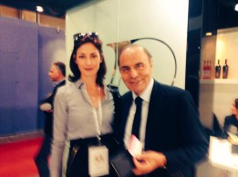 With Bruno Vespa, journalist and wine maker