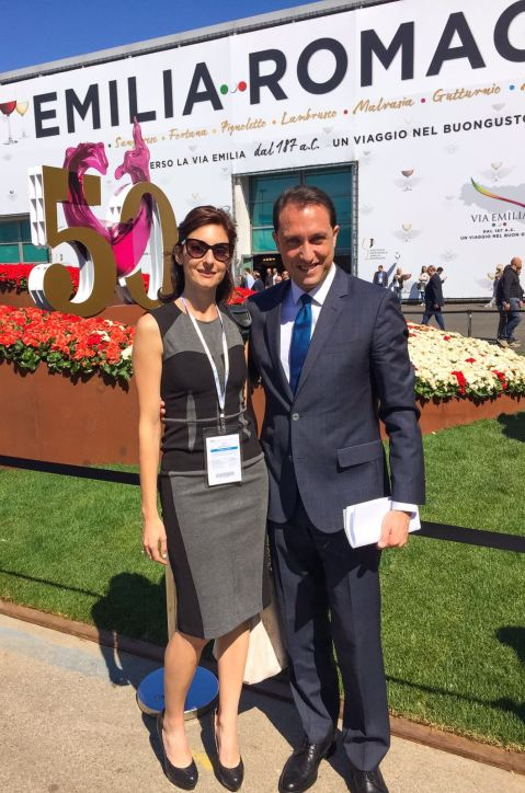 With Claudio Pedrazzini, member of Regione Lombardia Counsil