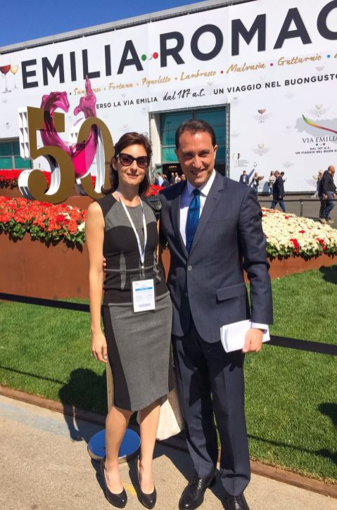 With Claudio Pedrazzini, member of Regione Lombardia Counsil
