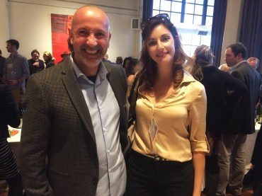 With Claudio Fenocchio