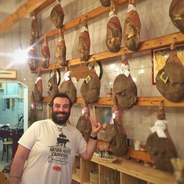 Falaschi and his Prosciutto di San Miniato