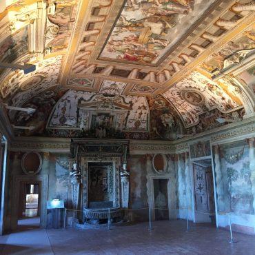 Inside Villa d'Este