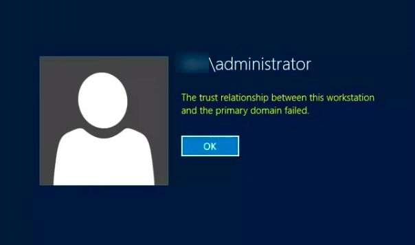 Security Database Does Not Have Account Workstation
