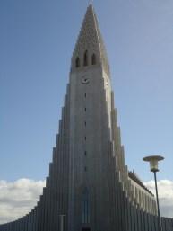 A church in Reykjavik