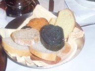 My first taste of black bread