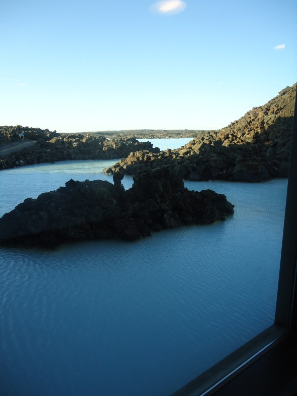 A view of the Blue Lagoon