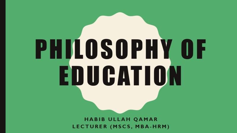 Social Constructivsim Philosophy-of-Education