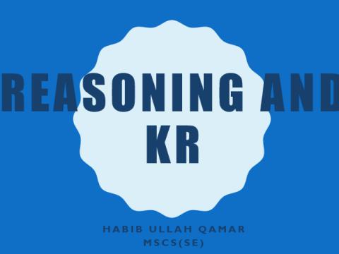 Knowledge Reasoning and Representation