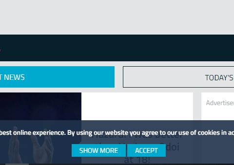 Website cookies manage