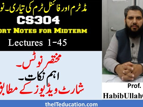 cs304 midterm final tem preparation short notes pdf