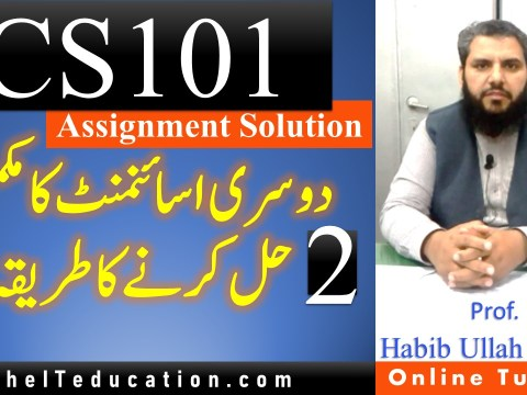 CS101 Assignment 2 Spring 2021 solution Guideline - 100% correct solution guideline