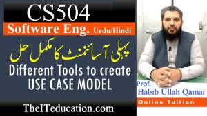 cs504 assignment 1 Solution - Spring 2021 - Complete guidleline how to create Use Case and Functional Requirement
