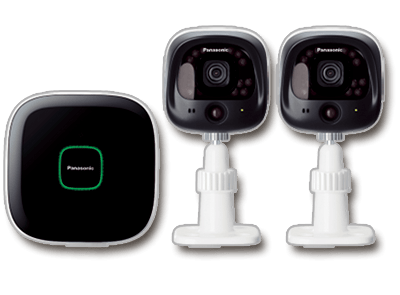 Panasonic Wi-Fi Indoor/Outdoor Home Surveillance System