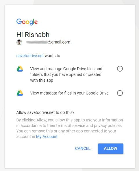 Save Files Directly To Google Drive And Download 10 Times
