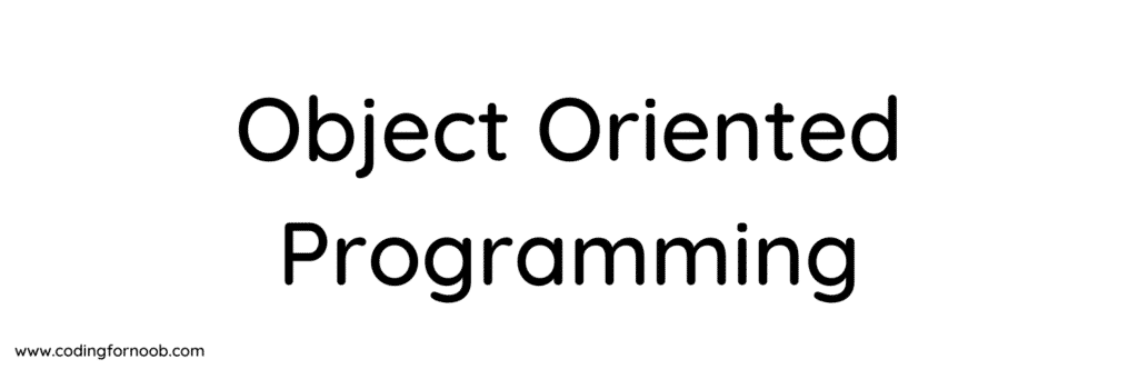 Object Oriented-Programming-Image