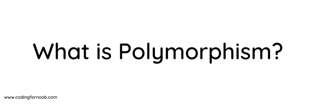 what is polymorphism in c#