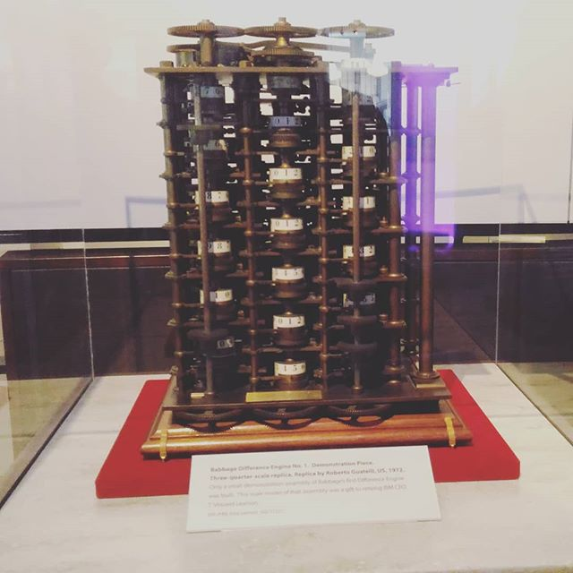 Babbage Difference Engine No 1