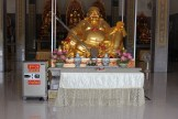 Fat Buddha in the temple, plus safe?