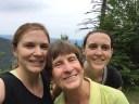 Coonan women hiking