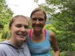 Hiking with Kristen!