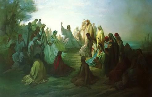 Jesus Preaching the Sermon on the MountGustave Dore