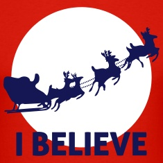 I-Believe-In-Santa-Claus-T-Shirts