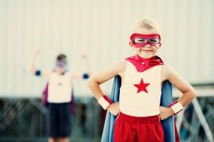 Retro-Superheros