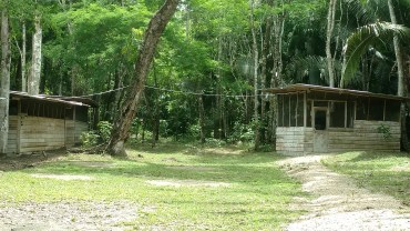 The boss' cabin at the camp I stayed at in the Rio Bravo Conservation Area in Belize.