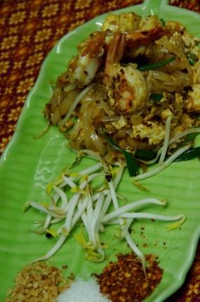 Pad Thai at Silom Thai Cooking School