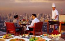 Vertigo Restaurant at Banyan Tree Hotel