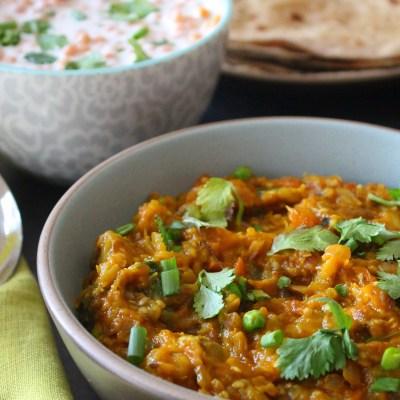 Baingan Bharta – Eggplant Curry