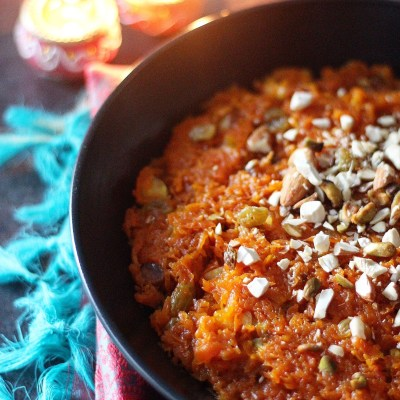 Diwali celebrations, a sweet and a savory recipe