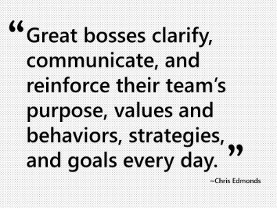 Great bosses clear the path for consistent performance