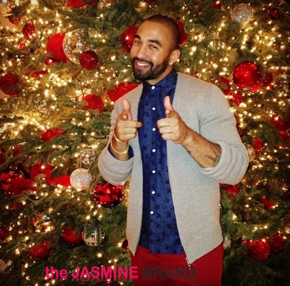matt kemp-attends kardashian christmas eve party 2013-the jasmine brand