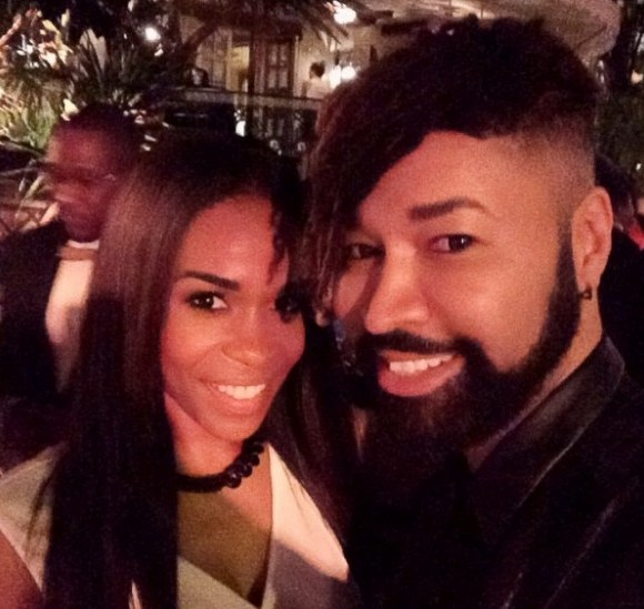 michelle williams-ty hunter-beyonce new years eve 2014 party-the jasmine brand