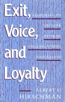 Image result for Exit, Voice, and Loyalty