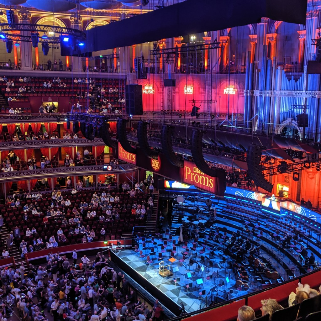 BBC Proms at the albert hall london