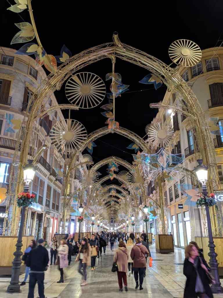 Malaga Main Street