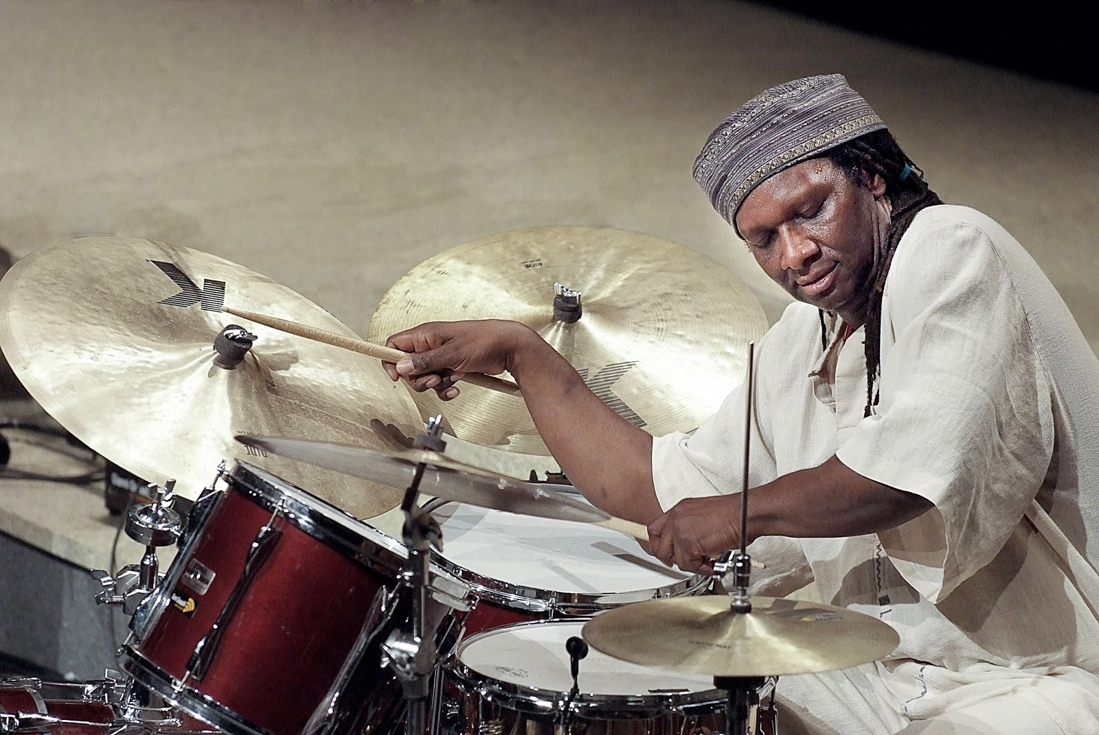 Chicago drummer Hamid Drake plays UK dates