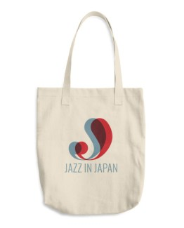 JAZZ IN JAPAN Cotton Tote Bag