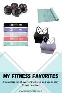 8 Fitness Items I LOVE- My Fitness Favorites