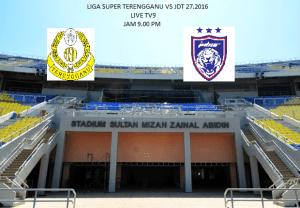 Video gol highlights jdt 2-0 Terengganu liga super 27.2.2016